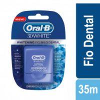 b57c46e2a Fio Dental Oral b 3d White com 35M preço
